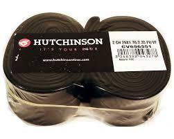 chambre à air butyl à air vtt hutchinson butyl 26 x1 70 2 35 lot de 2