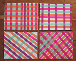 washi tape diy diy washi tape art a study on patterns and color u2014 a simpler