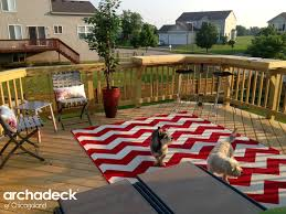 Chicago Patio Design by Wood Deck With Built In Bar Rail By Chicago Suburb Deck Builder