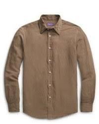 brown dress shirts for men men u0027s fashion