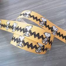 snoopy ribbon roseoftheparty rakuten global market snoopy ribbon 1 m yellow w