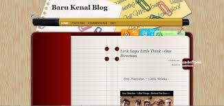 download template blog format xml file