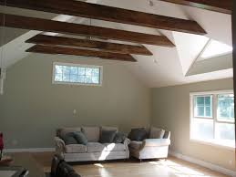 vaulted ceiling beams vaulted ceiling exposed beams
