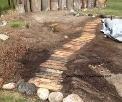 How To Build An Igloo In Your Backyard - use free wood pallets to make a walkway for your garden easy and