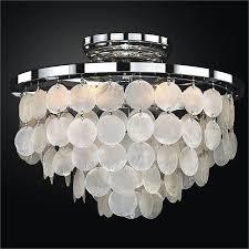 capiz flush mount light capiz shell flush mount light bayside 636 glow lighting