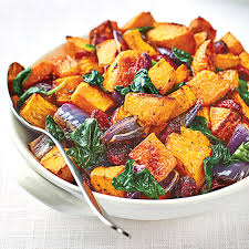 roasted butternut squash with baby spinach cranberries wegmans