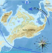 North America Ice Age Map by New Video On Safe Locations For The Pole Shift