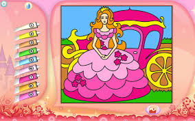princess coloring page printables apps for kids