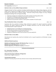Sample Mechanical Engineer Resume by Download Boeing Mechanical Engineer Sample Resume