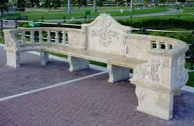 amazoncom garden bench cast stone granite rock bench 3 piece stone