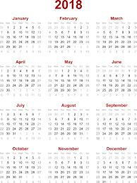 Calendar 2018 Ai Template 2018 Calendar Pdf Weekly Calendar Template