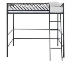 lit mezzanine noir avec bureau lit mezzanine pas cher pour enfants et adultes avec ou sans bureau