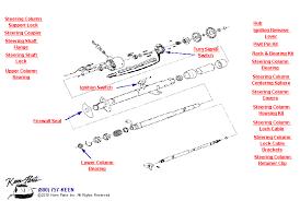 1968 corvette steering column 1968 corvette tilt telescoping column parts parts accessories