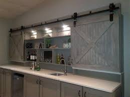 Barn Style Sliding Door by Make Interior Barn Door Rail The Door Home Design