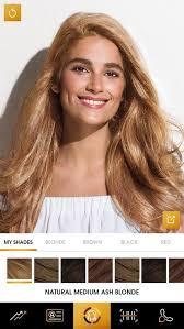 see yourself in different hair color clairol myshade android apps on google play
