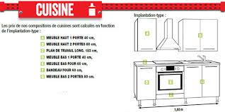 meuble cuisine dimension dimension meuble de cuisine cuisine pas cher meubles rangement