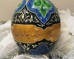 decorated ostrich eggs for sale ostrich egg etsy