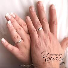 3mm ring ct white gold 3mm court men wedding band ring 4 4 grams