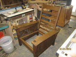 Craftsman Furniture Plans Arts And Crafts Morris Chairs U2013done U2026minus Cushions