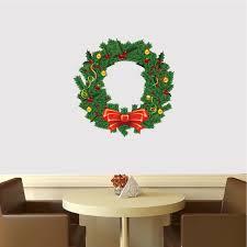 christmas wreath wall decal mural christmas wreath wall design