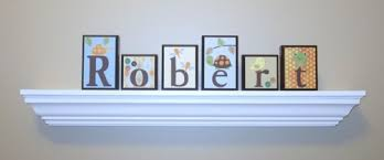 Baby Name Decor For Nursery Baby Name Decor Routed Edge Nursery Room Decor Childrens