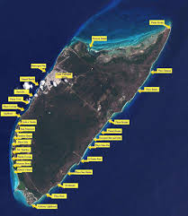 Map Of Mexico Beaches by Cozumel Beaches An Interactive Beach Map