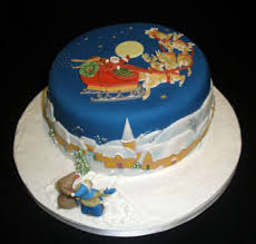 christmas cakes bespoke