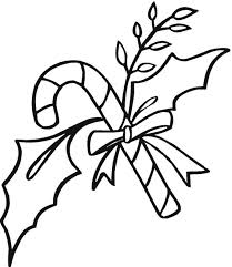 christmas candy canes candy coloring pages for christmas