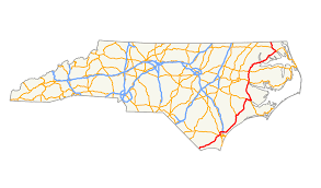 Map Of Wilmington Nc U S Route 17 In North Carolina Wikipedia