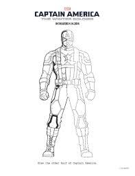 captain america winter soldier printable coloring