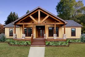 modular home front porches new plan with large timber truss