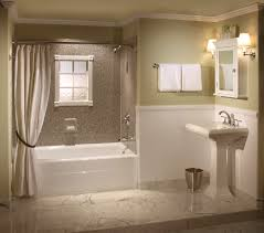 bathroom cabinet towel chandelier bathtub curtain appealing