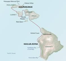 Molokai Map Abenteuertour Auf Einer 5 Sterne Yacht Hawaii Individuell