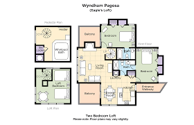 2 Bedroom Floor Plans by Club Wyndham Wyndham Pagosa