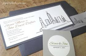 wedding invitations chicago chicago wedding invitations wedding skyline invitation chicago