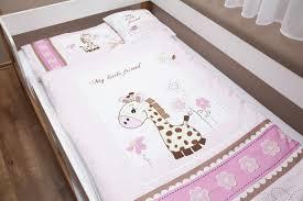 Baby Duvet Lenny Lion Pink Giraffe Woven Wrap Baby Duvet Set Earthy Bliss