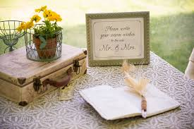 wedding signing matapeake wedding reception allison aaron