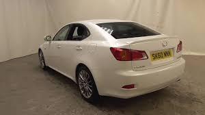 lexus blackburn used cars lexus is 220d f sport u14666 youtube