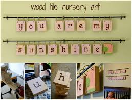 Idea For Tile Art Working Round 4 Wood Projects And Vote One Artsy Mama