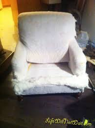 how to reupholster a chair the diy way