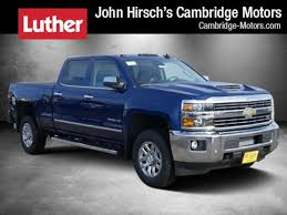 luther automotive 13000 new and pre owned vehicles new 2018 chevrolet silverado 2500hd for sale cambridge mn