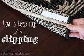 Stop Area Rug From Sliding On Carpet How To Keep Rugs From Slipping Ask