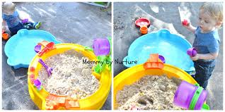 little tikes sand and water table warm weather fun with a treasure hunt sand water table mommy