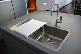 Contemporary Kitchen Faucets Stainless Steel Pull Down  Railing - Contemporary kitchen sink