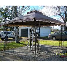 Replacement Pergola Canopy by Zellers Canada Gazebo Canopy Replacement Garden Winds Canada
