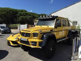 mercedes 6 x 6 mansory impresses with its tuned mercedes g63 amg 6x6