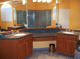 Bathroom Vanity Granite Top by Dark Gray Marble Counter Top With Double Sink Also Table On The