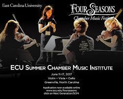 east carolina university summer chamber music institute home