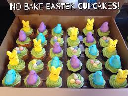 Easter Cupcake Decorating With Peeps by No Bake Easter Cupcakes My Crazy Blessed Life
