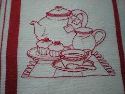 broderie cuisine cuisine stylisee photo de broderies cuisine citronnelle